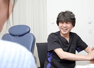 経験豊富なドクターによる丁寧な問診とわかりやすい説明